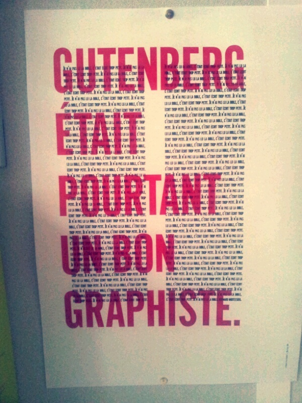 Affiche graphisme