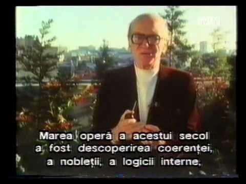 (subtitrat) Mircea Eliade și redescoperirea sacrului (1987) 1/4 https://www.youtube.com/watch?v=maGAYlSeLzA
