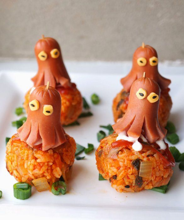 Fun Food Ideas For Kids: Octopus Hot Dogs