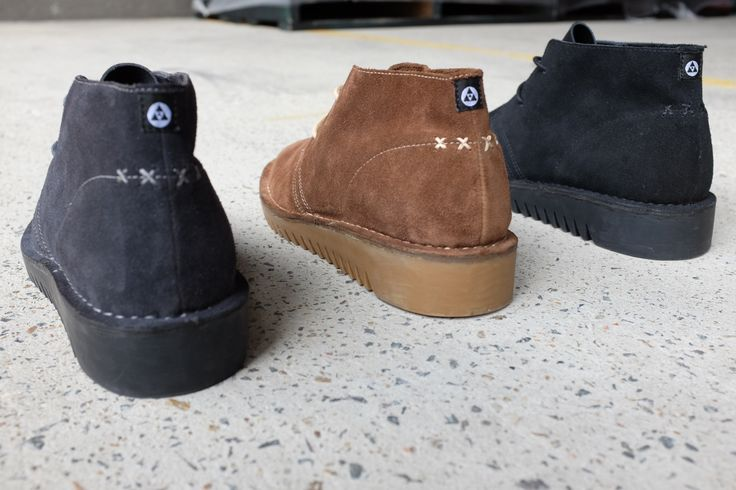 Grab a look at the heel details on our ripple sole desert boot ::: SULTAN II ::: available now http://www.urgefootwear.com.au/mens-shoes-online/sultan-charcoal-suede