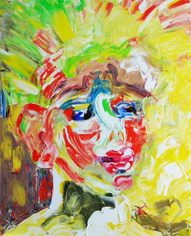 Sunny boy. (Sasha son of the artist). Oil on canvas, 50-40, 2005
