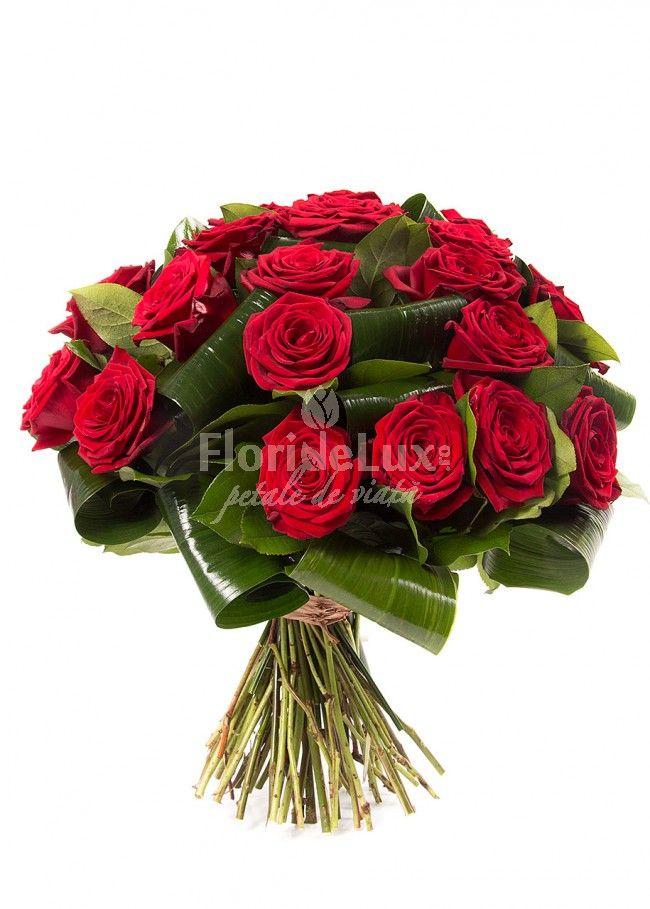 27 trandafiri rosii