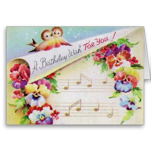 97 best Vintage Birthday Cards images – Birthdays Card Shop