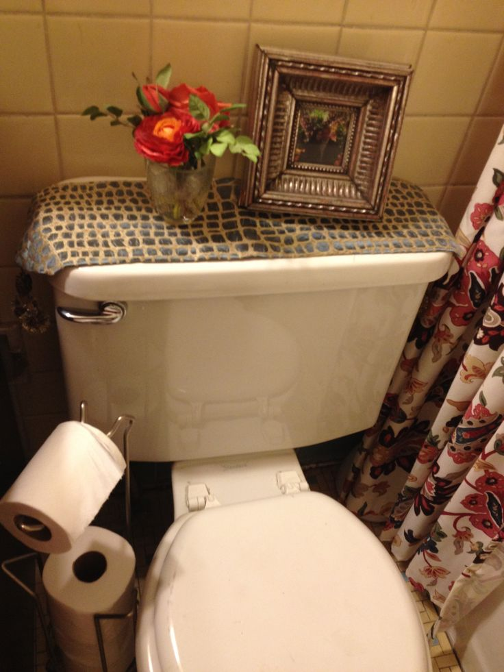 Toilet Tank Runner Living Room Designs Bathroom Toilet