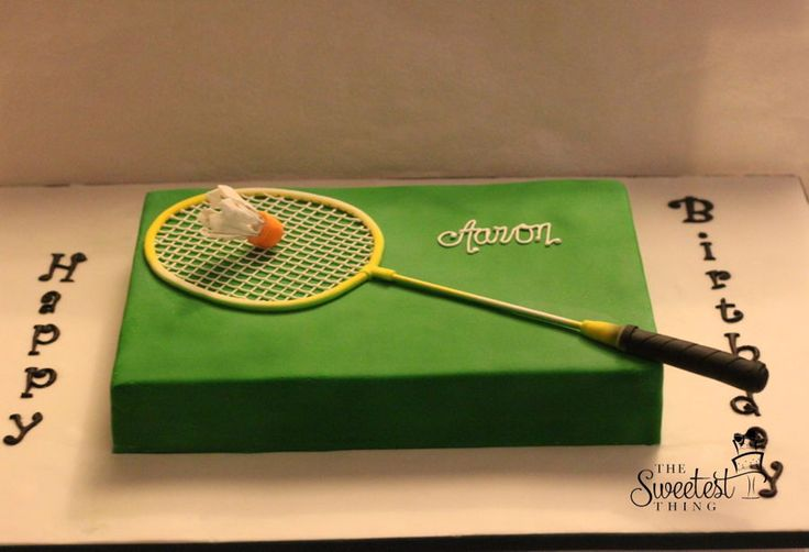 Badminton Cake on Cake Central