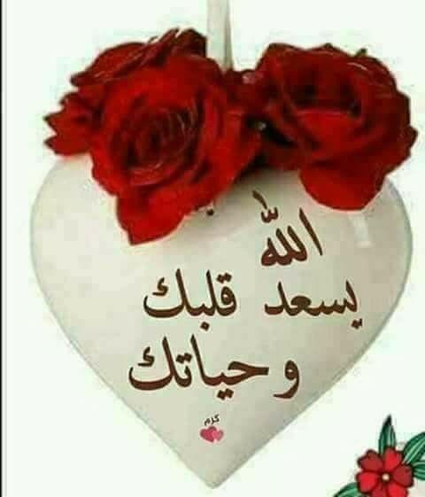 الله يسعد قلبك وحياتك Good Morning Images Flowers Beautiful Morning Messages Good Evening Messages