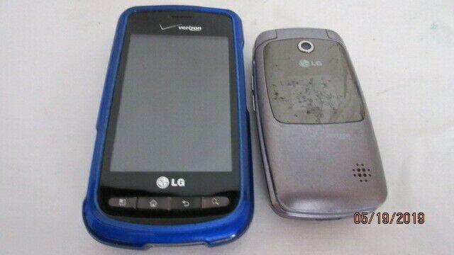 2 Verizon Lg Phones Flip 3 2 Mega Pixels With Qualcomm 3g Cdma With Case Afflink Lg Phone Phone Verizon Wireless