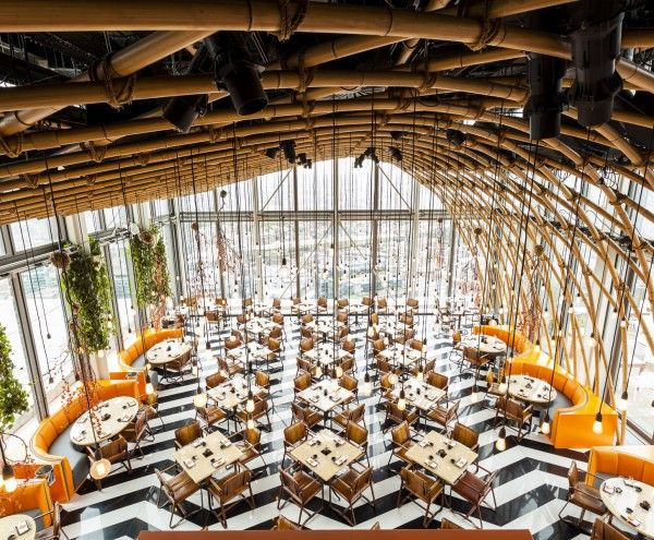 Sushisamba, Heron tower, Liverpool st