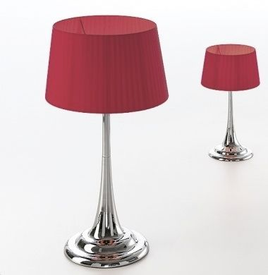PAULO COELHO - Lampe de table / contemporaine / en fer FLUID CROMADO