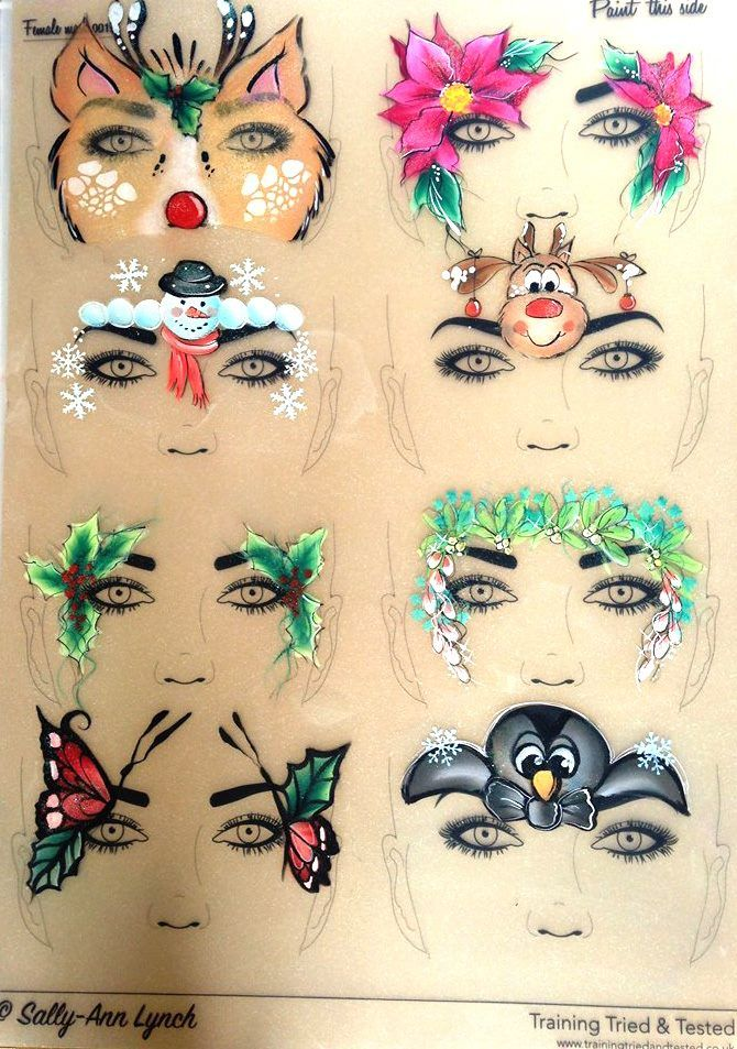 Best 20 reindeer face paint ideas on pinterest for Face paints supplies