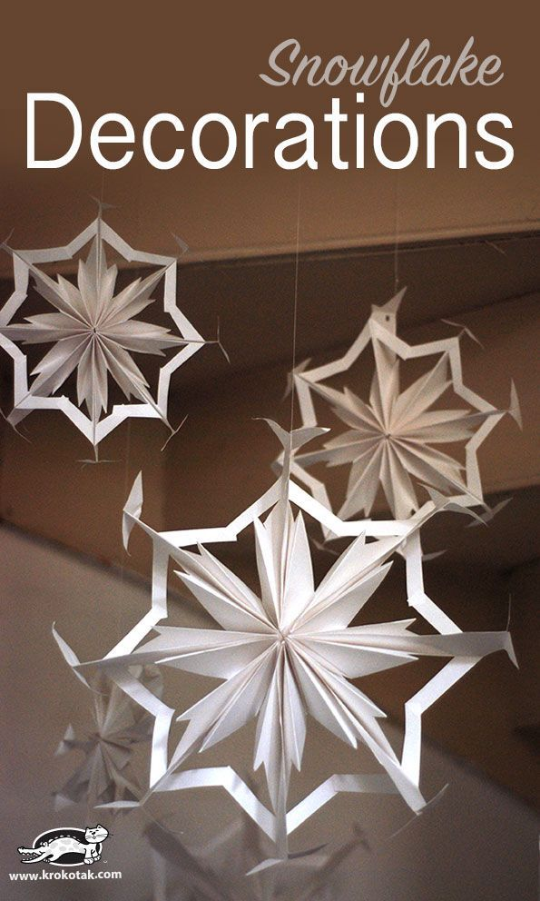 Paper+Snowflake+Decorations