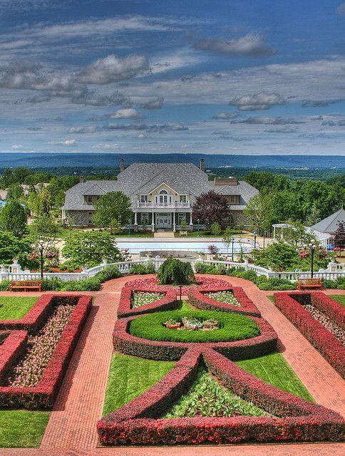 Hershey Hotel Grounds - Hershey, Pennsylvania