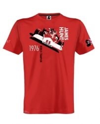 Official James Hunt t-shirt | Car Gifts, Motoring Gifts and Merchandise | Gearbox Gifts