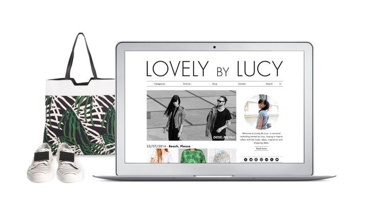 Lovely by Lucy responsive wordpress theme developent | www.lovelybylucy.com