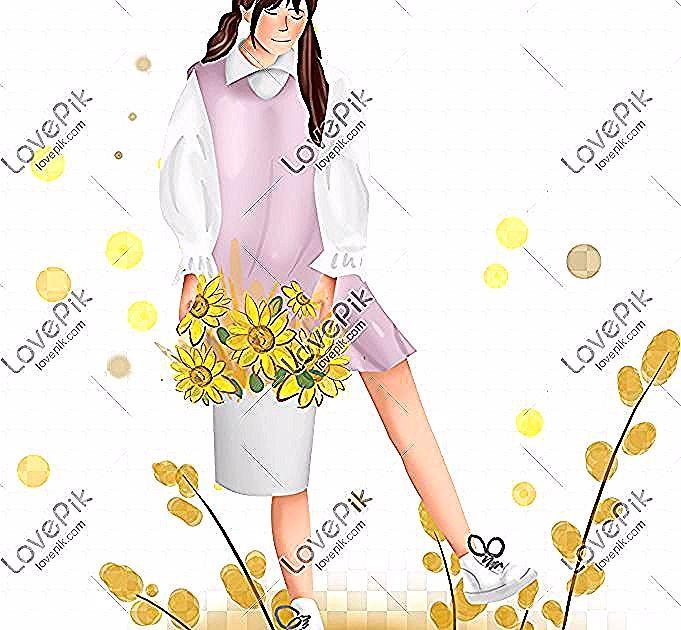 11 Lukisan Pasu Bunga Jatuh Musim