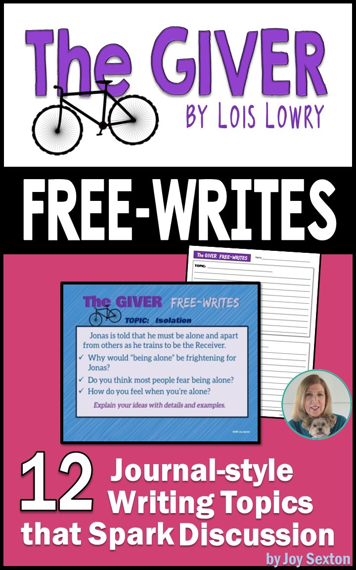 17 best ideas about the giver lois lowry book get your students thinking writing and discussing short topics for the giver