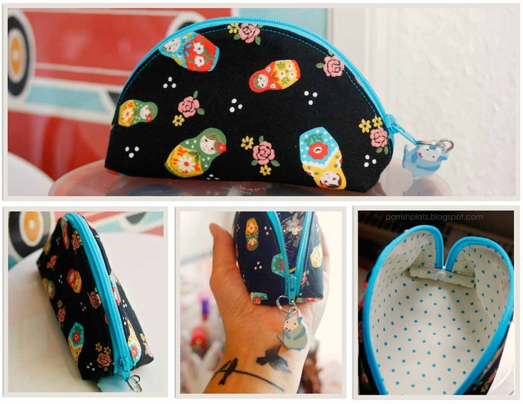 44 best images about make up bag on Pinterest Bags, Round travel and Tutorials
