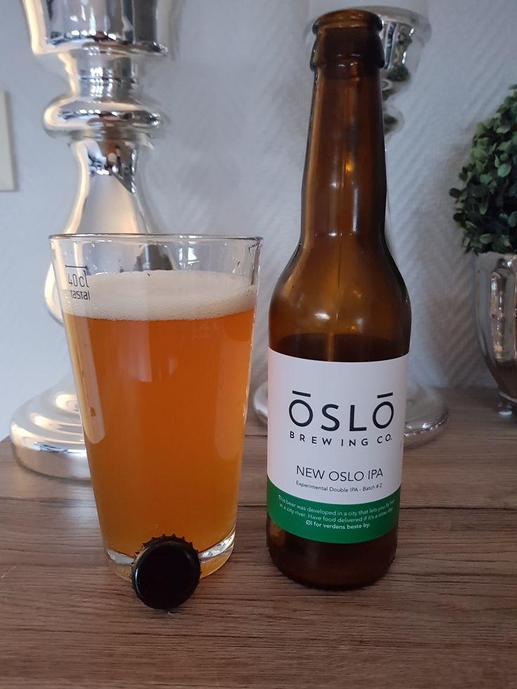 New Oslo IPA Batch #2 by Oslo Brewing Company