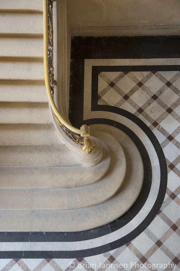 Staircase, Musee du Louvre, Paris, France