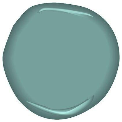 Benjamin Moore- Antiqued Aqua