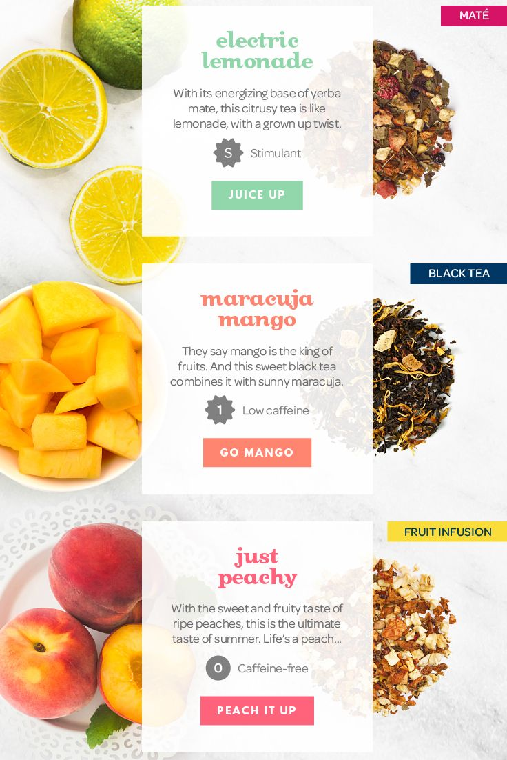 Need a summer refresher? Try these fruit-filled tea blends!