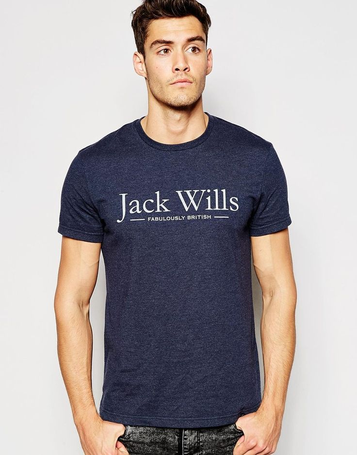Image 1 of Jack Wills T-Shirt with Jack Wills Print