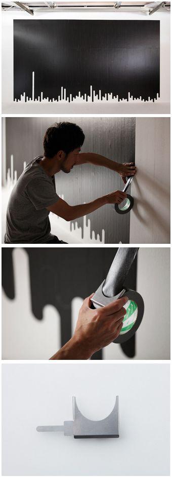 Liquid Tape Cutter by Kouichi Okamoto