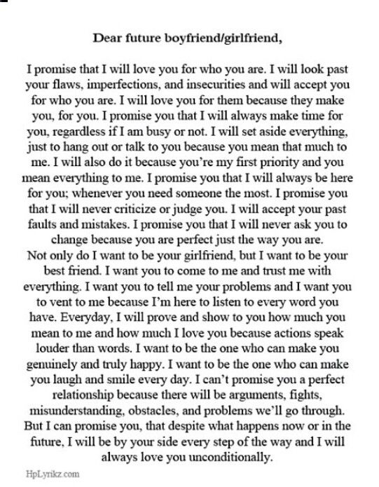 ... Boyfriend Quote, Dear Future Husband Letter, Letters To Boyfriend