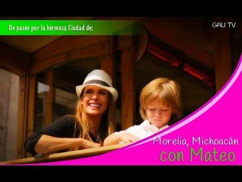 Galilea Montijo se pasea en Morelia con su hijo Mateo | La Voz de Michoacán