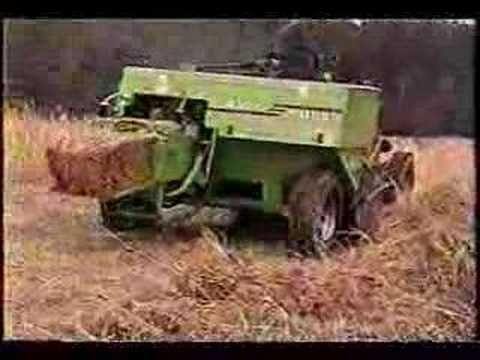 Pine straw farming equipment