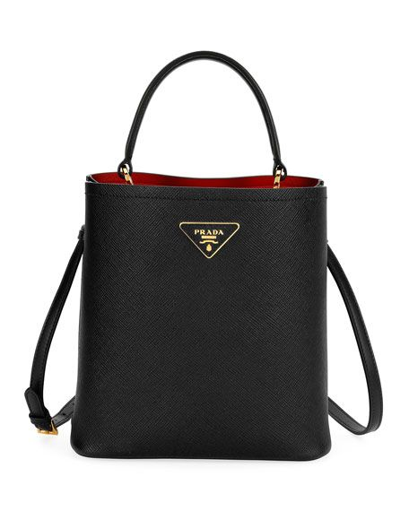 c1d09dc5cffe Double Bucket Bag by Prada at Neiman Marcus