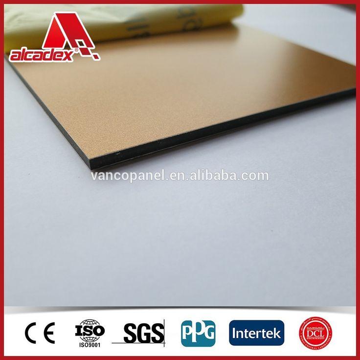 Compuesto de plástico/aluminio compuesto panel de encofrado