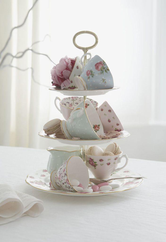 Tassen Englisch : ?ber ideen zu vintage teetassen auf