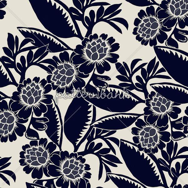 Classic Floral www.patternbank.com