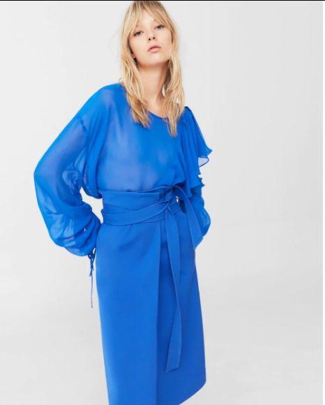 Colores que se llevarán en el verano 2017: azul eléctrico
