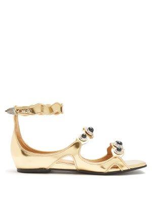 Embellished leather sandals | Toga | MATCHESFASHION.COM UK