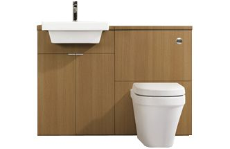 Toilet and sink units