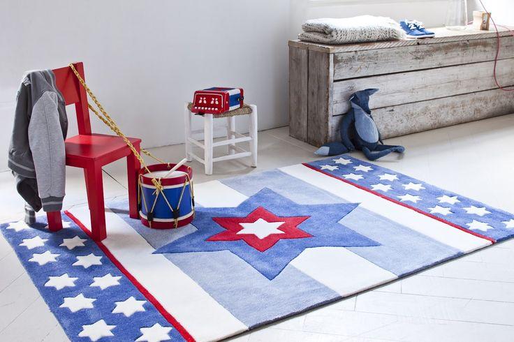 blauw, grijs, wit en rood.. leuk!