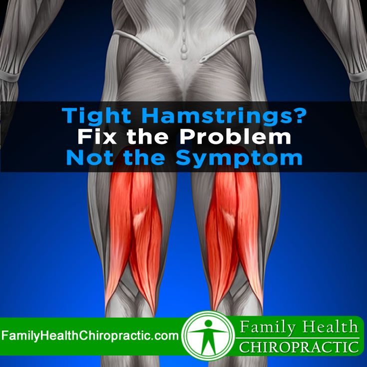 Do you have tight hamstrings? Stand with your feet together. Keep your knees locked. Slowly bend forward and touch your toes. Can you reach them? No?Then your hamstrings are too tight and they need stretching.  Wait. I'm kidding, but that's exactly what most people tend to think when they can't touch their toes.  Just because your hamstrings