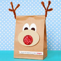 For cookies at christmas or just cute gift wrap.