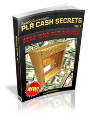 You've heard a lot about Private Label Rights and everyone's telling you that you can make heaps of money with #PLR products.   Is it as easy as it sounds?  It can be… if you know some of the tricks and secrets to success with #PLR products.   But how is your product going to stand out from all the others… all those other people who bought the same plr?   If you don't take any other piece of advice on reselling private label rights products, please, please take this one...