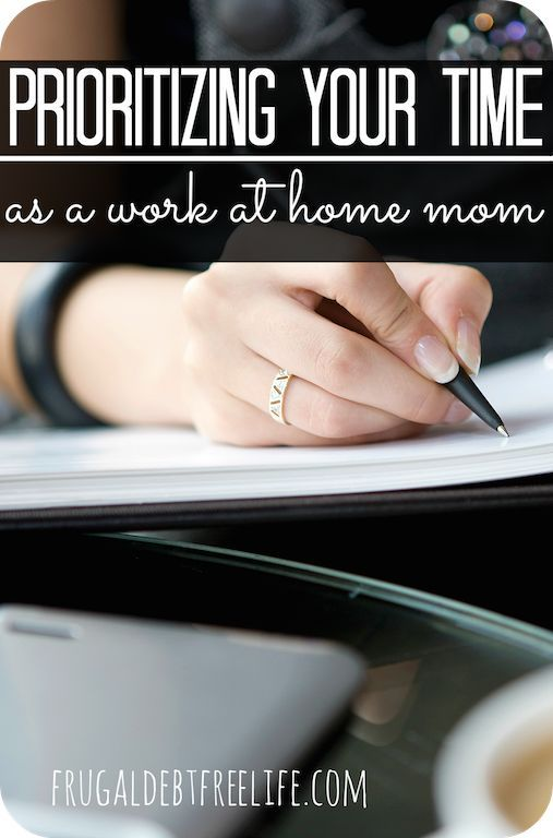 Time management tips (and tips on other things) for work at home moms. You have to tell your time where to go or your day will get up and leave.