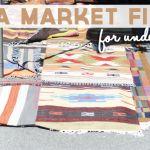 Flea Market Finds for under $15 | Cupcakes & Cashmere
