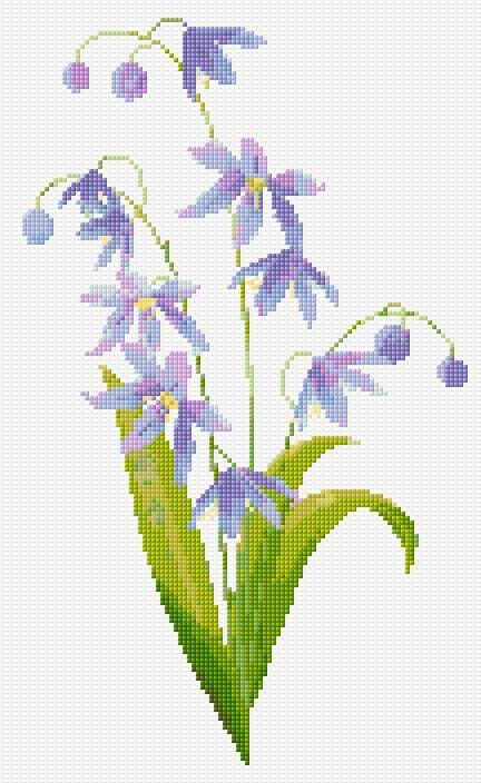 free blue flowers