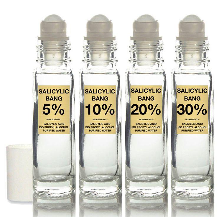 Ácido salicílico Skin Peel 5% 10% 20% 30% Kit tratamiento del acné cicatrices Negro Heads. | Belleza y salud, Cuidado de la piel, Tratamientos para el acné y manchas | eBay!