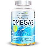 Optimum Omega 3 1000mg 1 Year Supply Pure Fish Oil with EPA & DHA by Nutravita | 365 Soft Gel Capsules | Made in the UK - https://www.trolleytrends.com/?p=563486