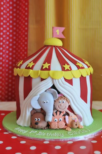 "Photo 1 of 10: Circus / Birthday ""Olivia's 1st Birthday"" 