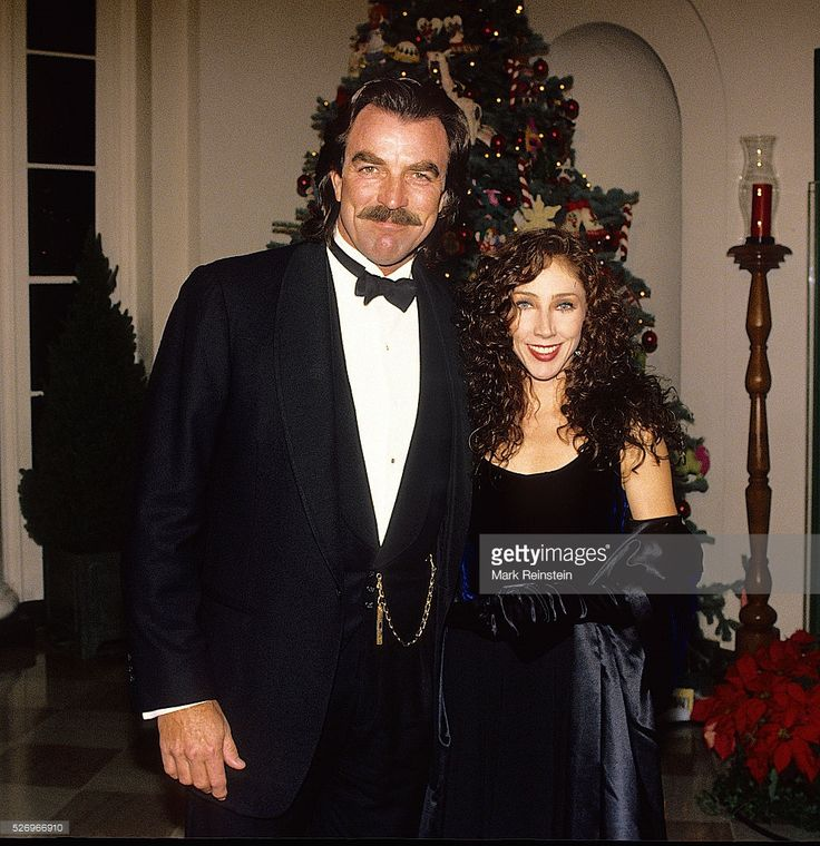 Washington, DC. 12-6-1992 Tom Selleck and his wife Jilly arrive at the White House State Dinner for the Kennedy Center Honors. Thomas William 'Tom' Selleck is an American actor and film producer. He is best known for his starring role as the private investigator Thomas Magnum in the television series Magnum, P.I. (1980 to 1988), based in Hawaii. He also plays Police Chief Jesse Stone in a series of made-for-TV movies based on Robert B. Parker novels. Since 2010, he has appeared as NYPD…