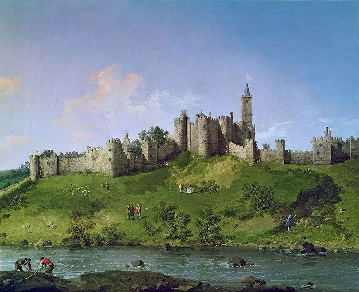 Canaletto Alnwick - Alnwick Castle - Wikipedia, the free encyclopedia