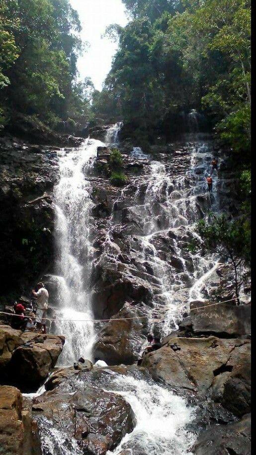 Sri Mahkota Waterfall, Kuala Rompin, Pahang
